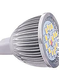GU5.3(MR16) Faretti LED MR16 16 SMD 5630 650LM lm Bianco caldo Luce fredda 3000K/6500K K Decorativo DC 12 V