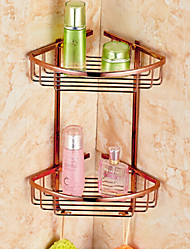 cheap -Bathroom Shelf Bathroom Gadget Neoclassical Brass Zinc Alloy Bathroom Shelf