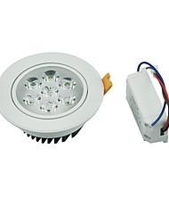 YouOKLight 1PCS 7W 7xLEDs Epistar  600lm Warm White/ White LED Ceiling Lamp (AC 100-240V)