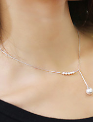 cheap -Women's Choker Necklace Pearl Necklace Pearl Imitation Pearl Alloy Choker Necklace Pearl Necklace , Wedding Party Daily Casual