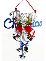 """couleur aléatoire 28 * 20cm / 11 * 7.9 """"décorations merry christmas poignée de porte suspendus père noël de cadeaux de noël arbre Jingle"""