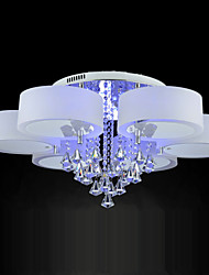 cheap -Ecolight™ Remote Control Flush Mount Crystal / LED Included Modern/Contemporary