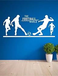 Недорогие -Спорт Наклейки Простые наклейки Декоративные наклейки на стены, ПВХ Украшение дома Наклейка на стену