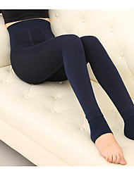 Women Solid Color Legging,Cotton Velvet Thick