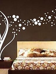 Botanický motiv / Módní Samolepky na zeď Samolepky na stěnu , PVC 120cm*190cm