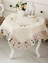 Embroidery/Classical Cotton Tablecloth. Tablecloth 85*85cm(34*34 inch)