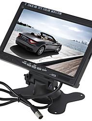 Недорогие -7-дюймовый цветной TFT-LCD монитор заднего вида автомобиля для DVD камеры