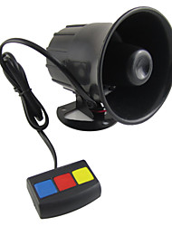 cheap -Scolour baru yang Universal 3 Tone Alarm mobil keamanan keras sirene tanduk 12 V DC panas