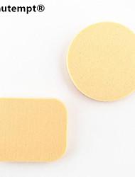 Недорогие -2шт 2in1 сухой&мокрый квадрат&круглый микрофибры губки пуховкой для маскирующее фундамента румянами