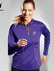 cheap -Women's Running Shirt - Purple Sports Sweatshirt / Top Yoga, Fitness, Gym Long Sleeve Activewear Quick Dry Stretchy