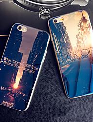Per iPhone X iPhone 8 iPhone 8 Plus iPhone 6 iPhone 6 Plus Custodie cover Fantasia/disegno Custodia posteriore Custodia Vista della città