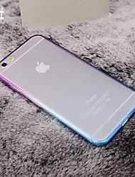 Per iPhone 8 iPhone 8 Plus iPhone 7 iPhone 7 Plus iPhone 6 iPhone 6 Plus Custodie cover Placcato Transparente Custodia posteriore Custodia