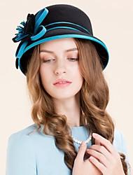 Недорогие -Женский Шерсть Заставка-Особые случаи На каждый день Для деловой одежды на открытом воздухе Шапки 1 шт.