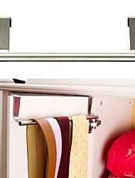 cheap -Cabinet Hanger Over Door Kitchen Towel Holder Drawer Hook Storage Bathroom Scarf