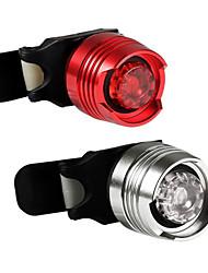 Недорогие -Светодиодная лампа Велосипедные фары Налобные фонари Задняя подсветка на велосипед огни безопасности - Горные велосипеды Велоспорт Водонепроницаемый Портативные Осторожно! CR2032 400 lm Батарея