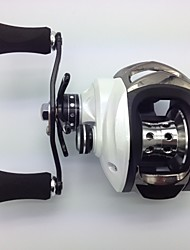 cheap -Baitcasting Reel 6.3:1 Gear Ratio+14 Ball Bearings Left-handed Bait Casting / Freshwater Fishing / Lure Fishing - MD200LA