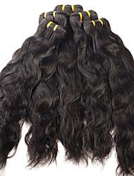 Menschenhaar spinnt Brasilianisches Haar Wasserwellen 12 Monate 1 Stück Haar webt