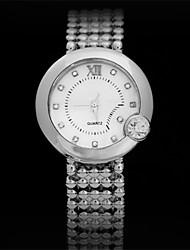 abby l'ultimo orologio al quarzo dorato della moda, signore di modo watche