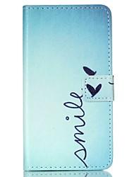 رخيصةأون -غطاء من أجل Samsung Galaxy حالة سامسونج غالاكسي محفظة / حامل البطاقات / مع حامل غطاء كامل للجسم جملة / كلمة جلد PU إلى Xcover 3 / Trend Lite / J7