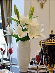 Afdeling PU Liljer Bordblomst Kunstige blomster 88cm*25cm*25cm