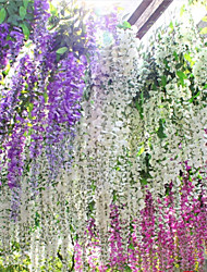 cheap -105CM Length Wisteria Flower Wedding Celebration Decorate(12 PCS)
