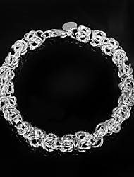 cheap -Fashion Noble 925 Silver Party Chain & Link Bracelets For Woman&Lady Christmas Gifts