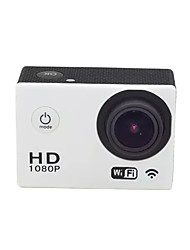 cheap -SJ6000 WIFI Sports Action Camera 12MP 1920 x 1080 WiFi Waterproof Convenient 2.0 inch CMOS 32GB H.264 English French German Russian
