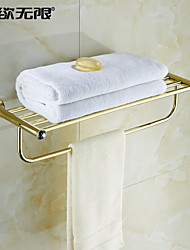 economico -Mensola del bagno Moderno Cristallo Ti-PVD