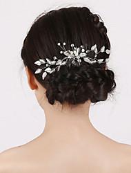 economico -pettini per capelli perla imitazione stile femminile classico
