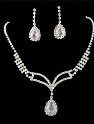 cheap -Women's Others Jewelry Set Earrings / Necklace - Regular Silver For Wedding / Party / Special Occasion