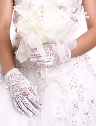 cheap -Lace Wrist Length Glove Bridal Gloves Party/ Evening Gloves