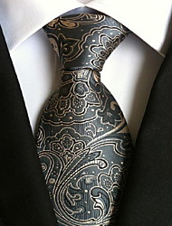 cheap -Men's Polyester Neck Tie,Vintage Cute Party Work Casual Print All Seasons Rainbow