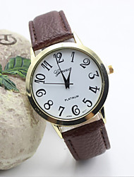 Women's Fashion Leisure Leather Quartz Belt Watch(Assorted Colors) Cool Watches Unique Watches Strap Watch