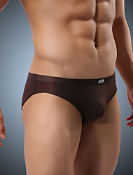 cheap -Men's Polyester / Ice Silk Briefs Underwear