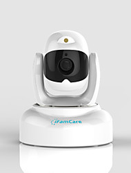 iFamCare® Helmet 2.0 MP IP Camera IR-cut Day Night Motion Detection Remote Access Wi-Fi Plug and play