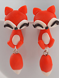 Women's Stud Earrings Fashion Costume Jewelry Silicone Animal Shape Jewelry For Daily Casual