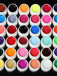 Недорогие -36solid чистый блеск цвета смешивания маникюр ногтей УФ-гель строителя декор новая