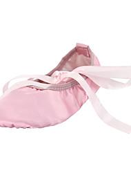 economico -Per bambini Balletto Seta Ballerine Per interni Piatto Cammello Rosso Rosa Non personalizzabile