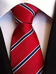 Men Wedding Cocktail Necktie At Work Red Blue Multiple
