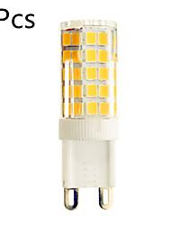 E14 G9 G4 Luci LED Bi-pin T 51 leds SMD 2835 Decorativo Bianco caldo Luce fredda 720lm 2800-3200/6000-6500K AC 220-240V