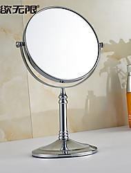 abordables -Miroir Chrome Sur Pied 20cm(8inch) Laiton Contemporain