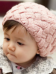 cheap -Kid's Lovely Ball Knit Beret Cap