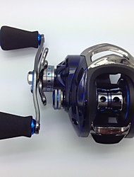 cheap -Baitcast Reels 6.3:1 15 Ball Bearings Left-handed Bait Casting / Freshwater Fishing / Lure Fishing - KW150 L MING JU WU