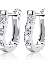 cheap -Women's Stud Earrings - Sterling Silver For Wedding / Party / Daily