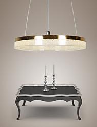 cheap -LED Crystal Pendant Light,  Golden Modern Lamp