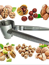 cheap -Stainless Steel Kitchen NutCracker Grinder Pine Crusher Masher Nut Peanut Walnut Presser Sheller