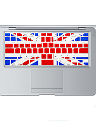 British flag design Silicone Keyboard Cover Skin for MacBook Air 13.3, MacBook Pro With Retina 13 15 17 US Layout
