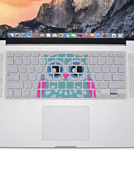 cheap -owl design Silicone Keyboard Cover Skin for MacBook Air 13.3, MacBook Pro With Retina 13 15 17 US Layout