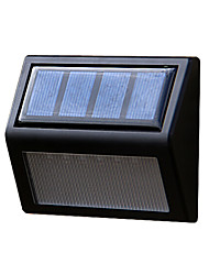 economico -potere del pannello solare 6 LED hall muro luce percorso recinzione casa esterno lampada da giardino gradino cantiere illuminazione a led