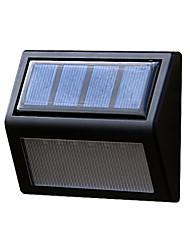 preiswerte -Solarenergie-Panel 6 LED Wand Lobby Weg Zaun Licht zu Hause im Freien Gartenlampe Treppenstufe Hof LED-Beleuchtung